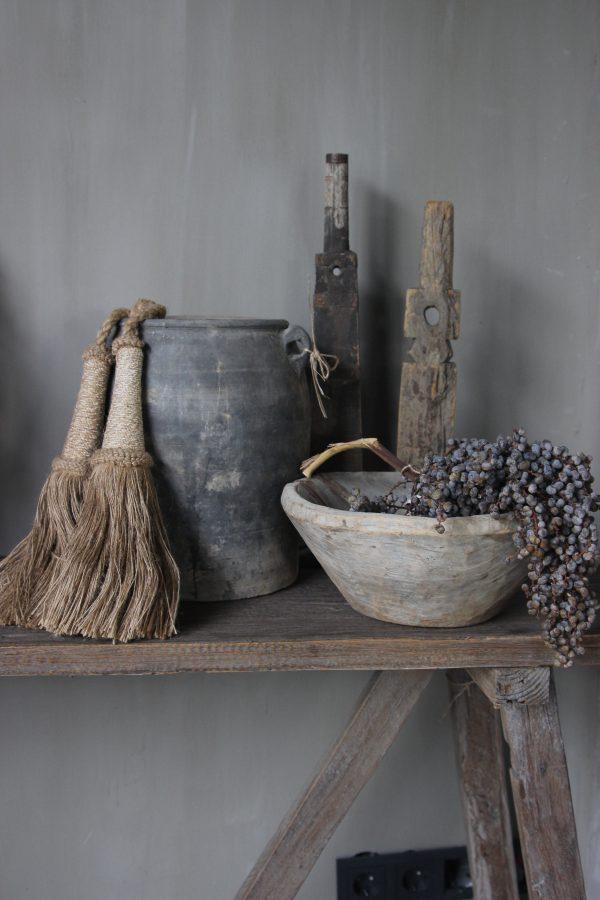 Oude houten bowl 1.