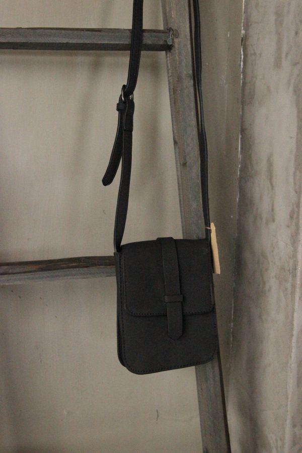 Mini Bag Zwart klepje